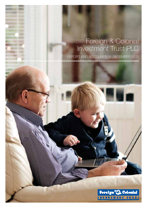 Foreign & Col Investment Trust annual report 2015
