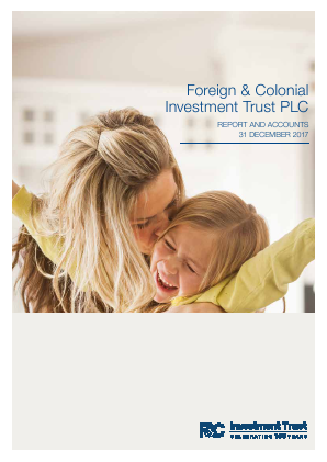 Foreign & Col Investment Trust annual report 2017