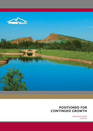 Fresnillo Plc annual report 2008