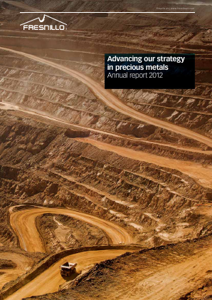 Fresnillo Plc annual report 2012