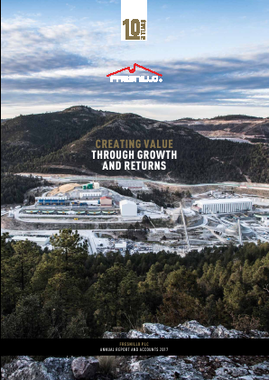 Fresnillo Plc annual report 2017
