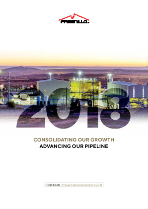 Fresnillo Plc annual report 2018