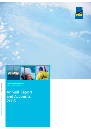 Fisher(James) & Sons Plc annual report 2005