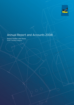 Fisher(James) & Sons Plc annual report 2008