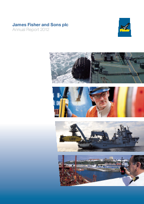 Fisher(James) & Sons Plc annual report 2012