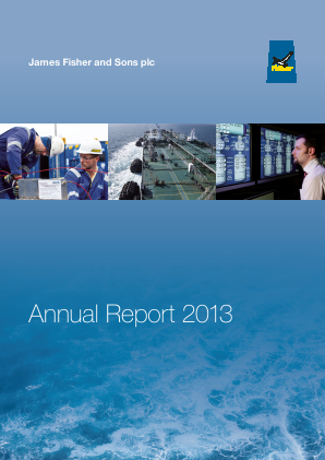 Fisher(James) & Sons Plc annual report 2013