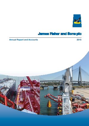 Fisher(James) & Sons Plc annual report 2015