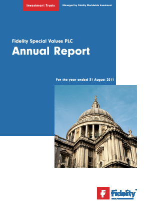 Fidelity Special Values annual report 2011