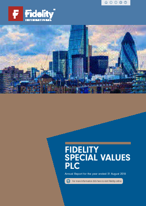 Fidelity Special Values annual report 2018