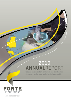 BOS Global (formally Forte Energy Nl) annual report 2010