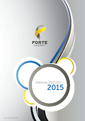 BOS Global (formally Forte Energy Nl) annual report 2015