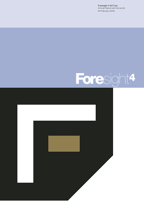Foresight 4 VCT annual report 2008