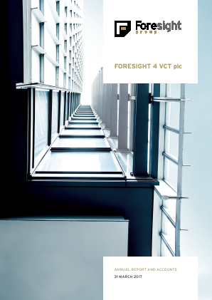 Foresight 4 VCT annual report 2017