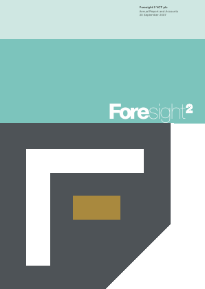 Foresight 2 VCT Plc annual report 2007