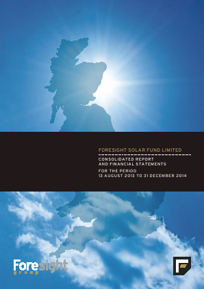 Foresight Solar & Infrastructure VCT Plc annual report 2014