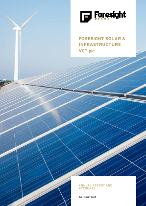 Foresight Solar & Infrastructure VCT Plc annual report 2017