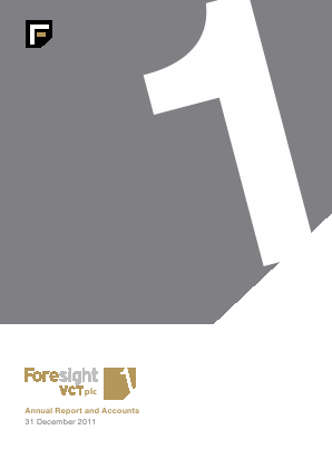 Foresight VCT Plc annual report 2011