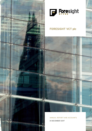 Foresight VCT Plc annual report 2017