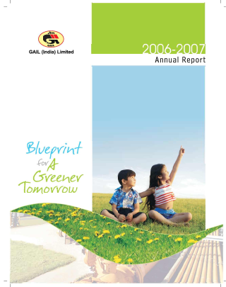 Gail(India) annual report 2007