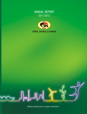 Gail(India) annual report 2012