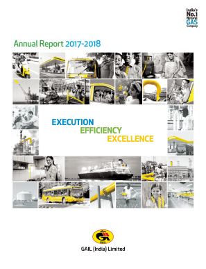 Gail(India) annual report 2018