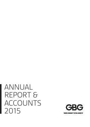 Gb Group annual report 2015