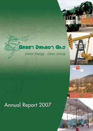 Green Dragon Gas annual report 2007