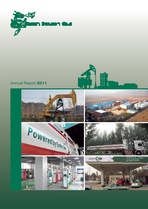 Green Dragon Gas annual report 2011