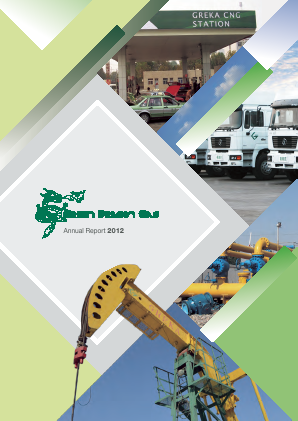 Green Dragon Gas annual report 2012