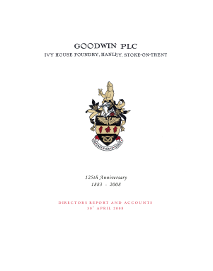 Goodwin annual report 2008