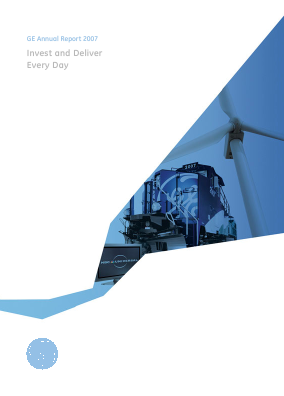 General Electric annual report 2007