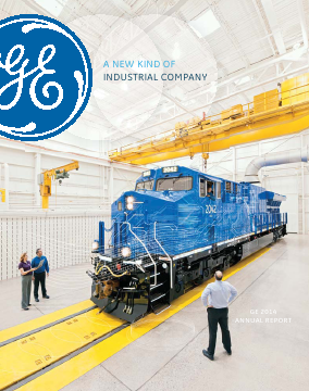 General Electric annual report 2014
