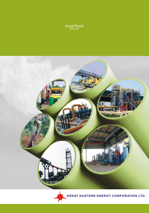 Great Eastern Energy Corp annual report 2009