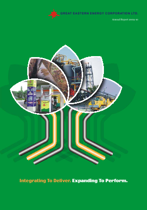Great Eastern Energy Corp annual report 2011