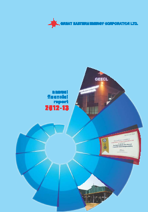 Great Eastern Energy Corp annual report 2013