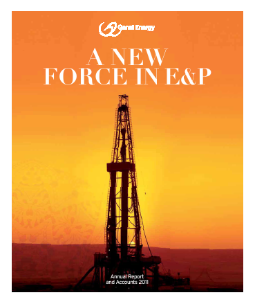 Genel Energy Plc annual report 2011