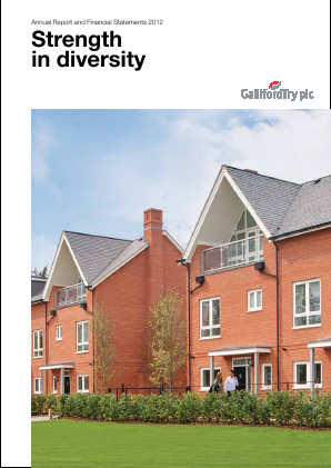 Galliford Try Plc annual report 2012