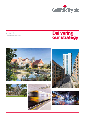 Galliford Try Plc annual report 2015