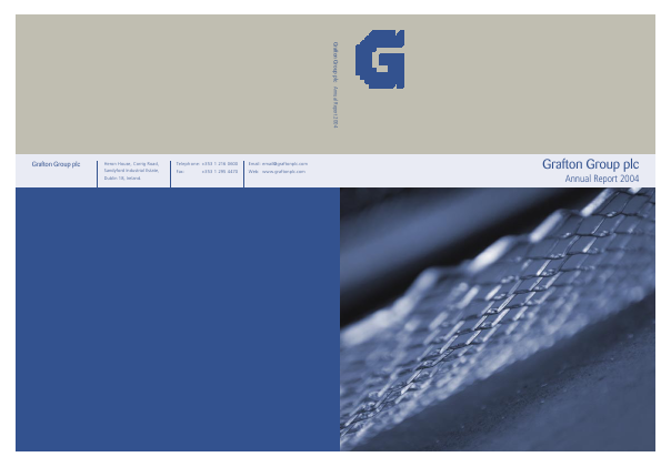 Grafton Group annual report 2004