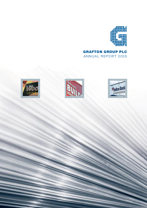 Grafton Group annual report 2005