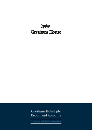 Gresham House annual report 2016