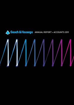 Gooch & Housego Plc annual report 2011