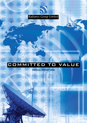 Global Invacom Group annual report 2009