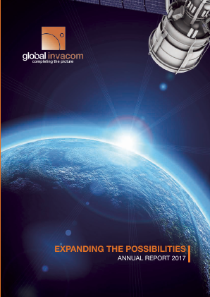 Global Invacom Group annual report 2017