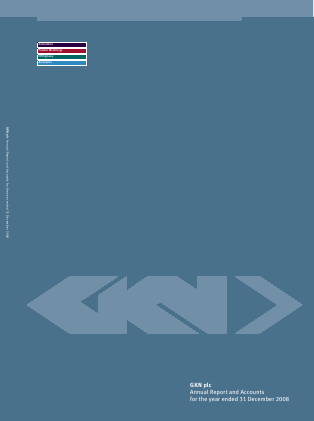 GKN annual report 2008