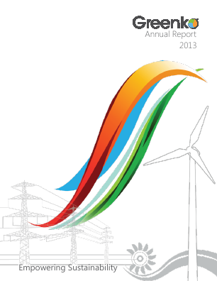 Greenko Group Plc annual report 2013