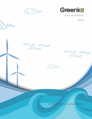 Greenko Group Plc annual report 2014