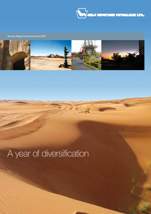 Gulf Keystone Petroleum annual report 2007