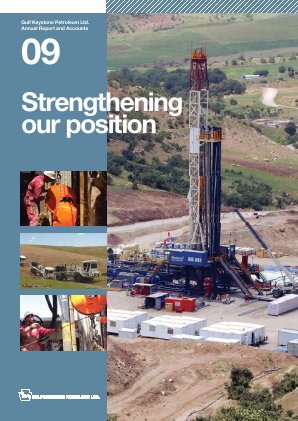 Gulf Keystone Petroleum annual report 2009