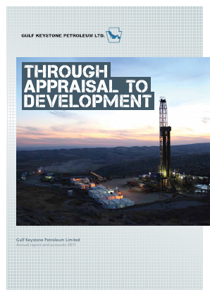 Gulf Keystone Petroleum annual report 2011
